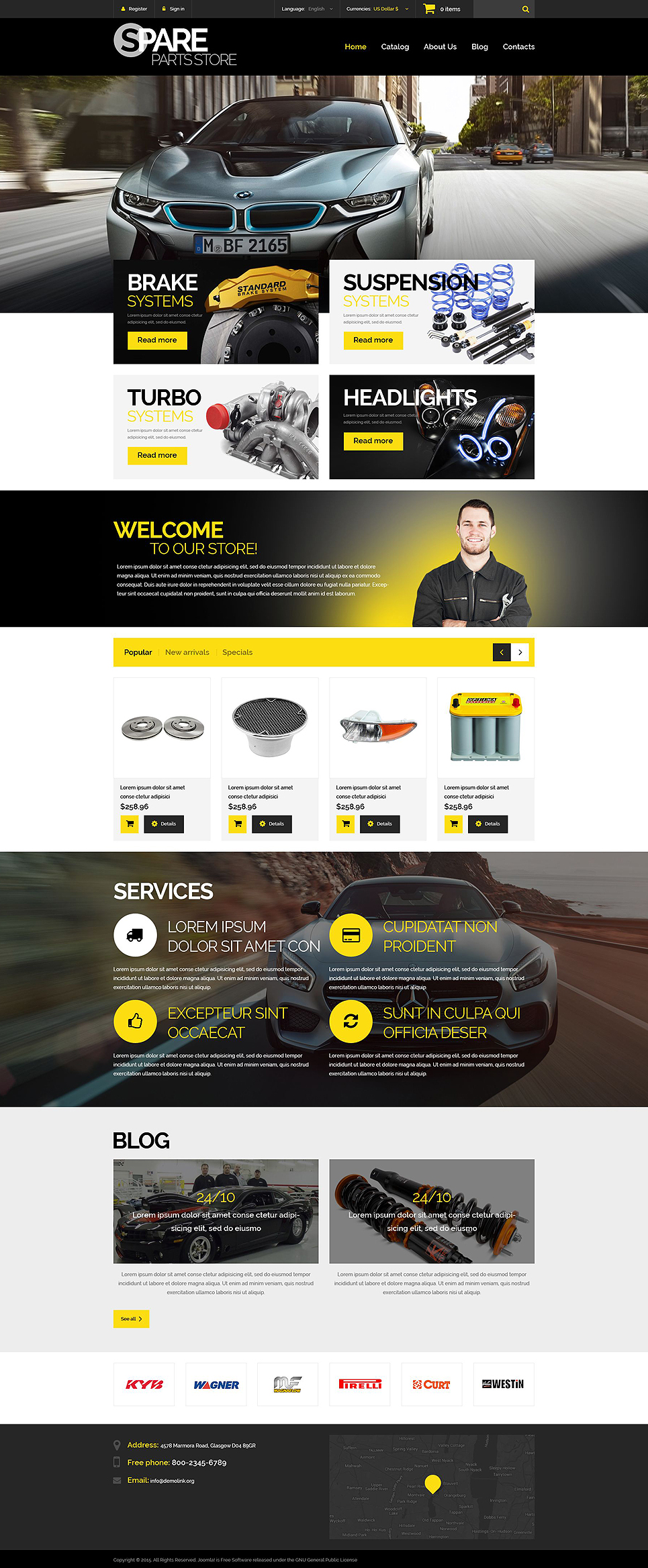 Spare Parts Store (PrestaShop theme) Item Picture