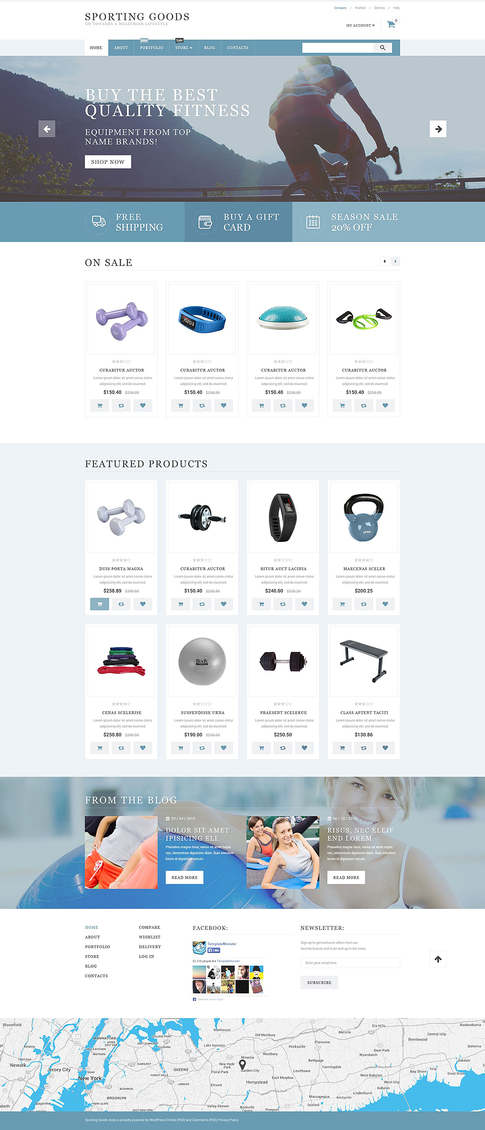 Sporting Goods (template for WooCommerce) Item Picture