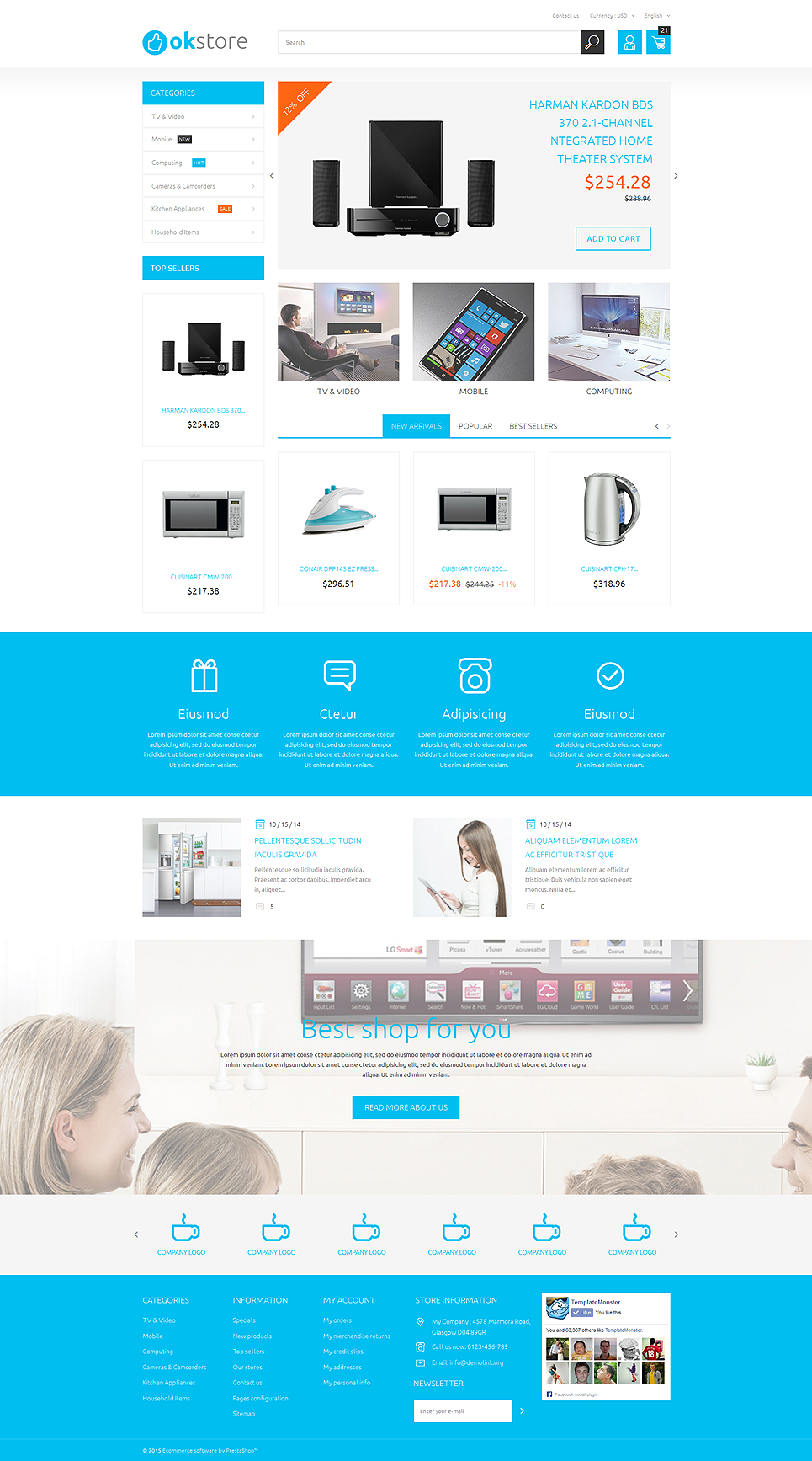 Tech Gear (theme for PrestaShop) Item Picture