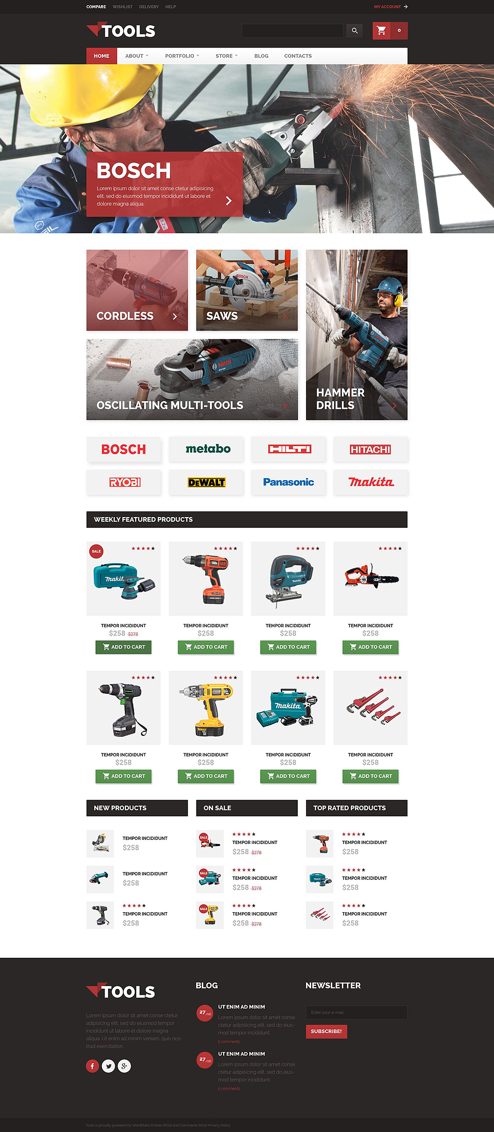 Tools (template for WooCommerce) Item Picture