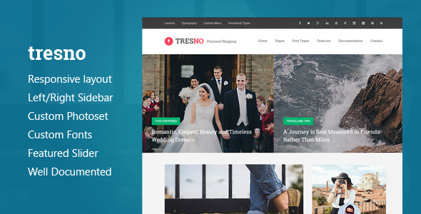 Tresno (Tumblr theme) Item Picture