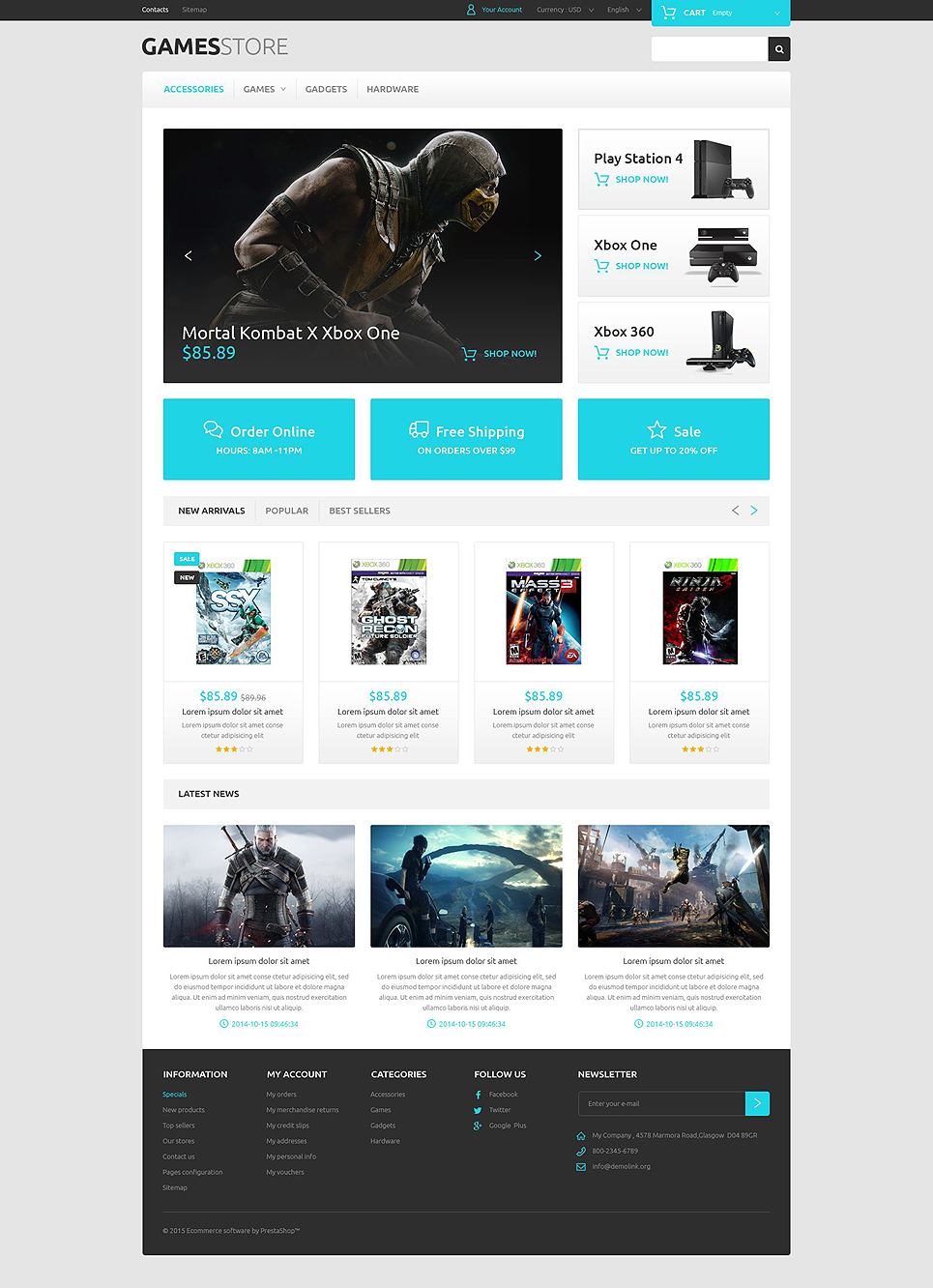 website templates for video