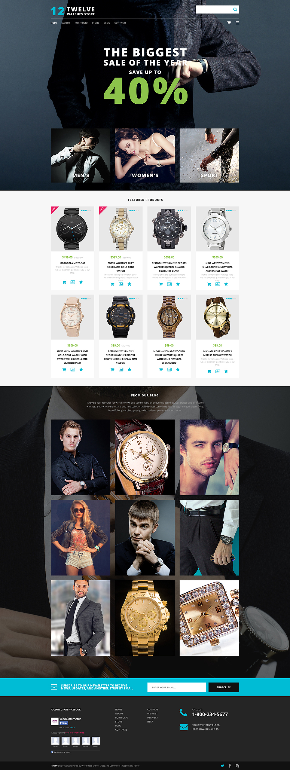 Wedding Venues Responsive (template for WooCommerce) Item Picture