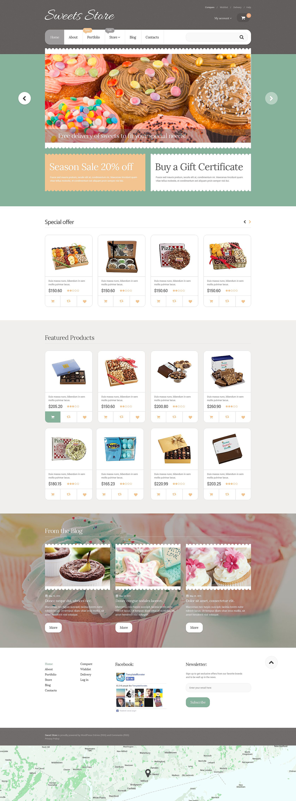 Yummy Sweets (template for WooCommerce) Item Picture