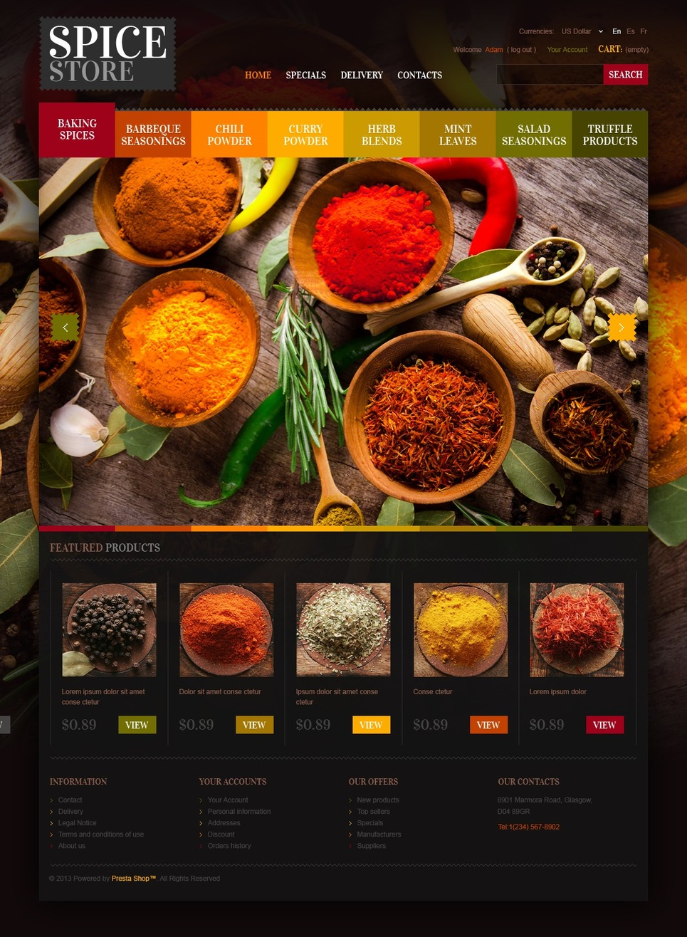 Chef's Spices