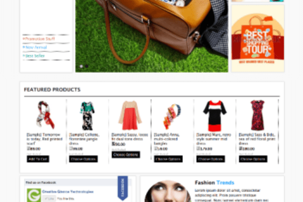 Fashion Trends (ecommerce theme for BigCommerce) Item Picture