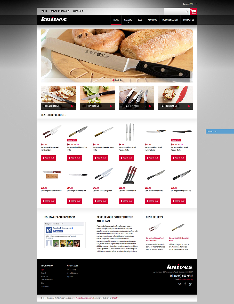 Housewares Store (Shopify theme for ecommerce sites) Item Picture