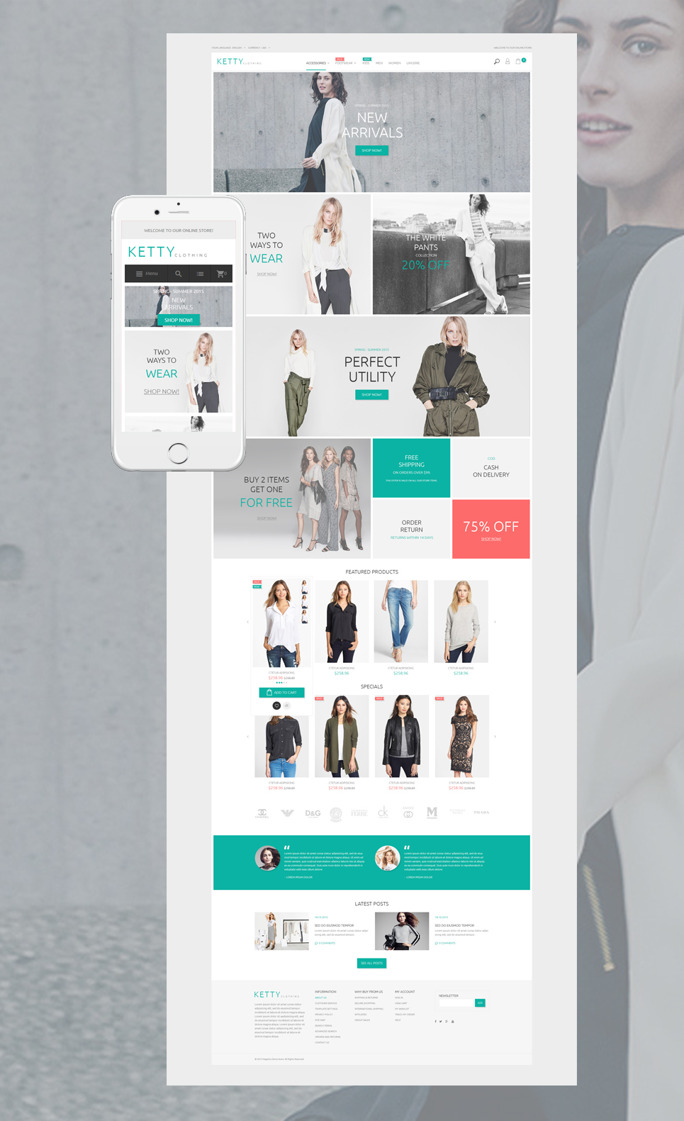 Ketty (theme for Magento ) Item Picture