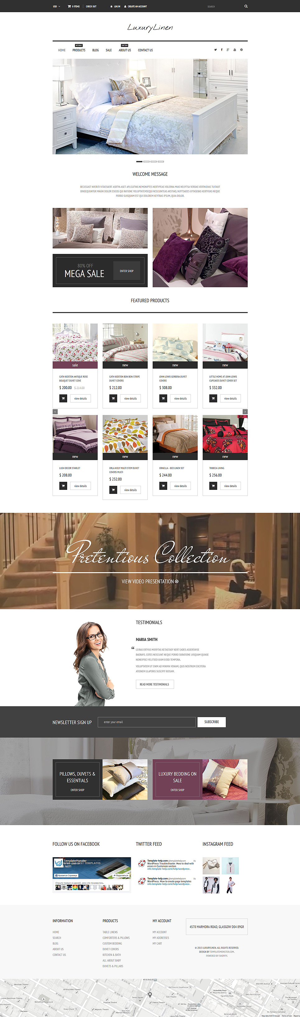 Linen Store (Shopify theme) Item Picture