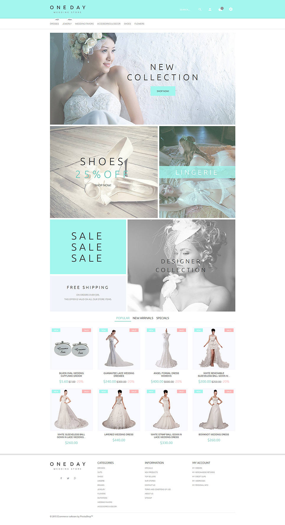 One Day (ecommerce template for PrestaShop ) Item Picture