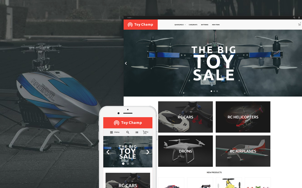 Toy Champ (theme for Magento ) Item Picture