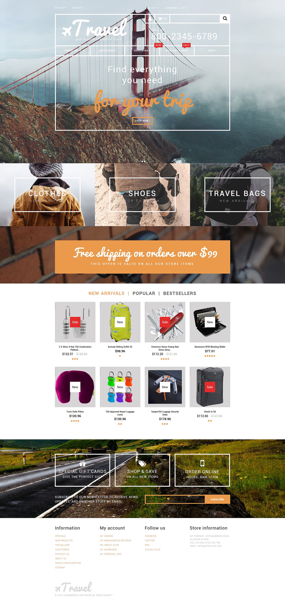 Travel Gear Store