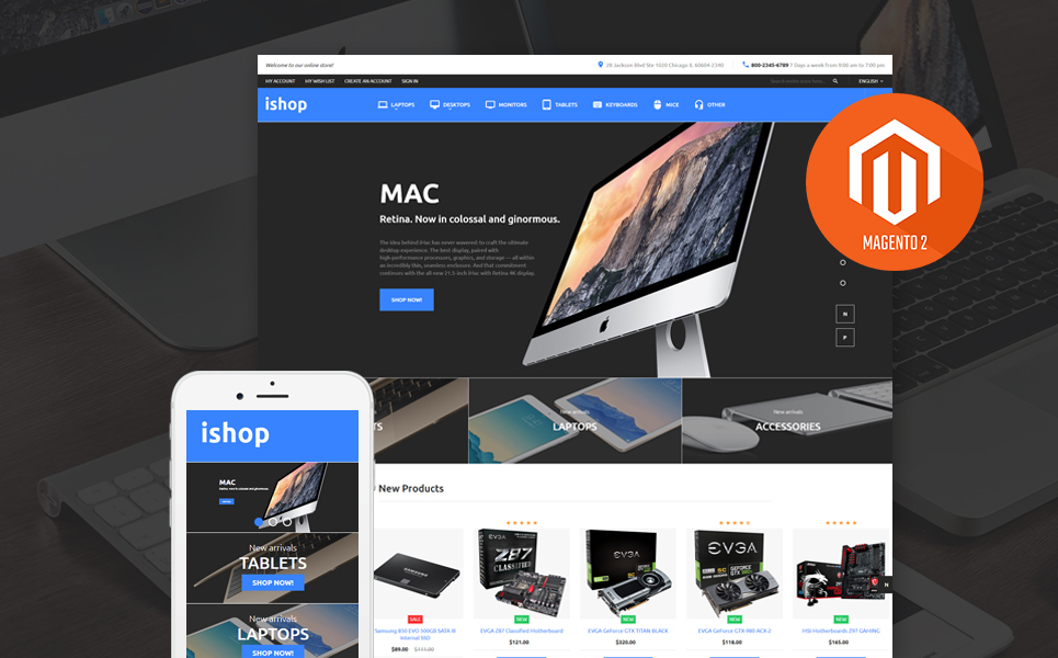 iShop (theme for Magento ) Item Picture