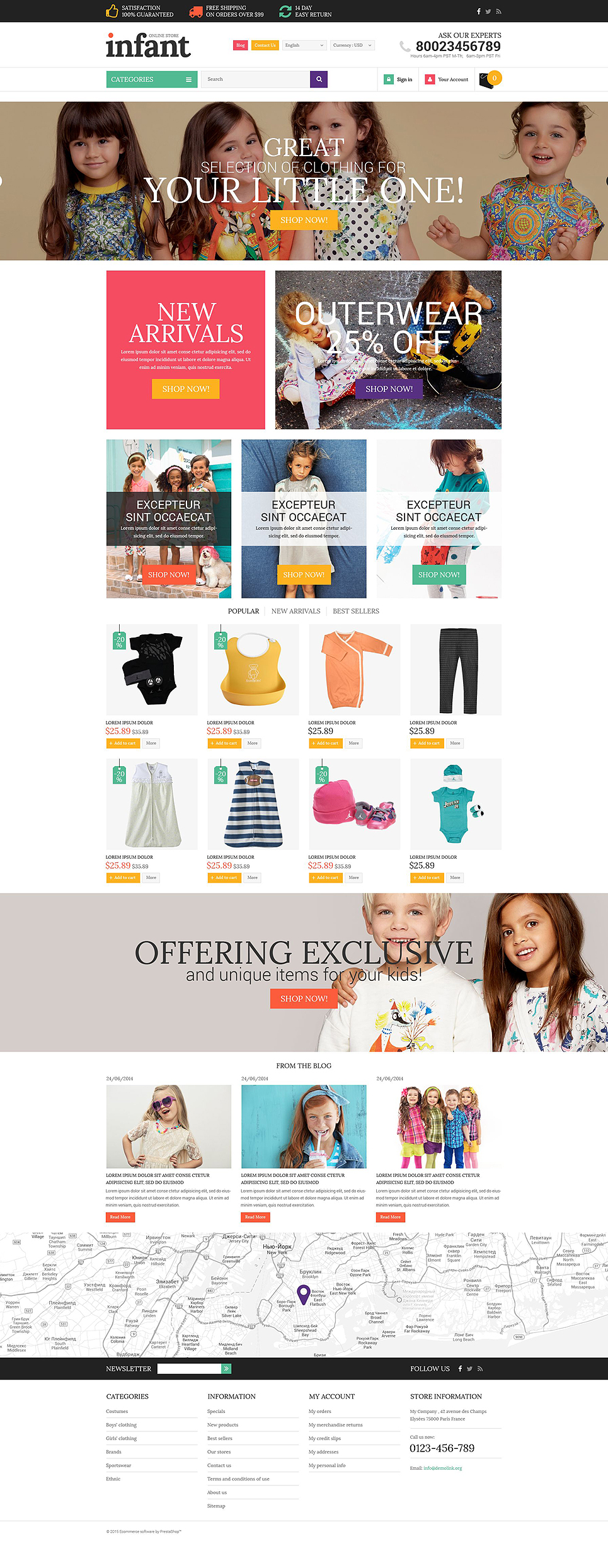 Infant (theme for Shopify) Item Picture