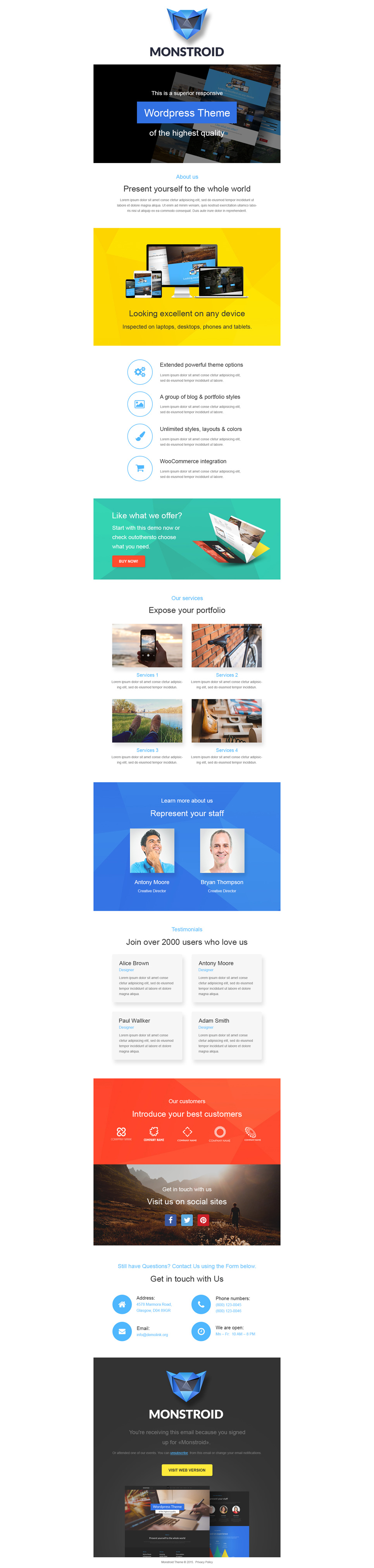Business (responsive newsletter theme) Item Picture