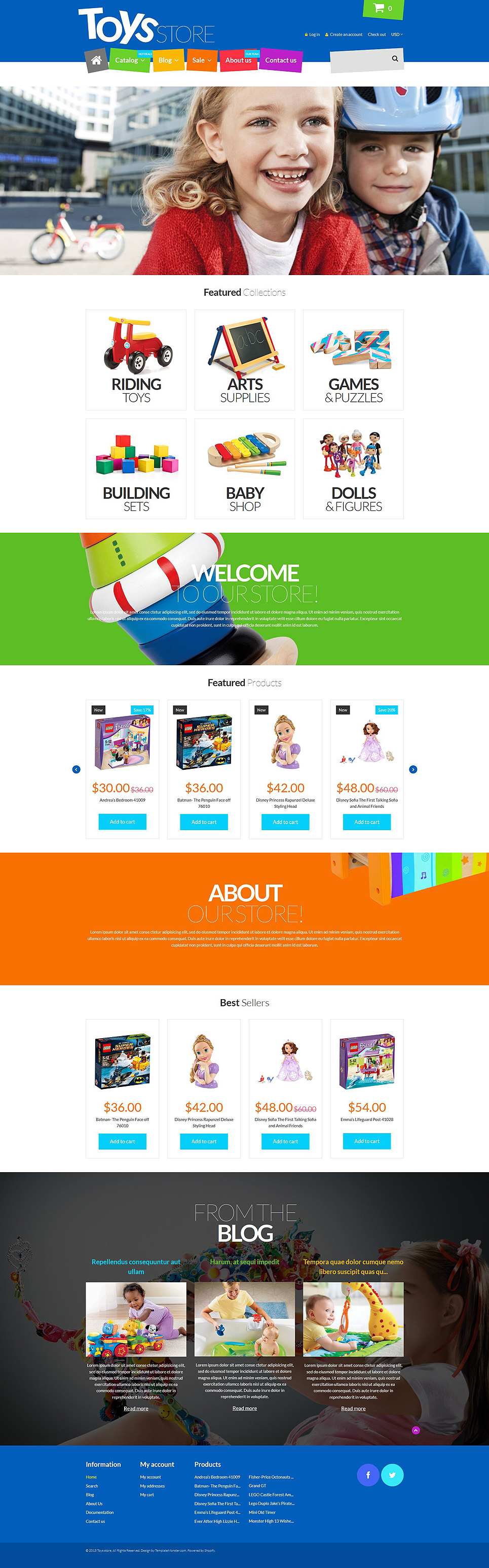 Toys R Me (Shopify ecommerce theme) Item Picture