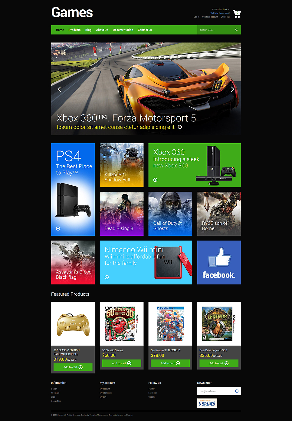 Games Store (Shopify theme) Item Picture