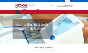 Great Medical Supplies & First Aid Kit Store Shopify Themes