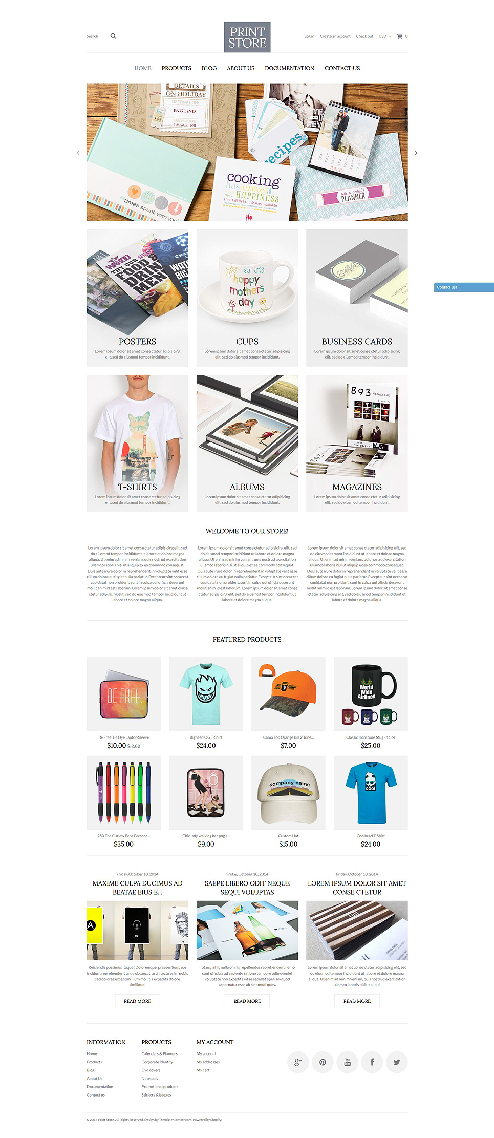 Modern Print Solutions (theme for Shopify) Item Picture