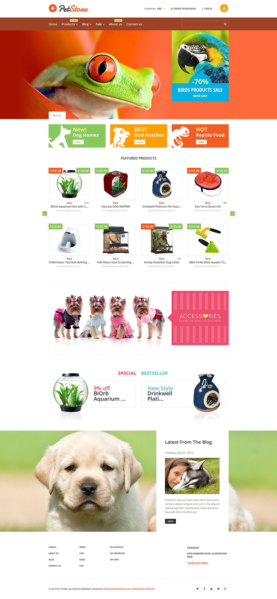 Pet Store (Shopify theme) Item Picture