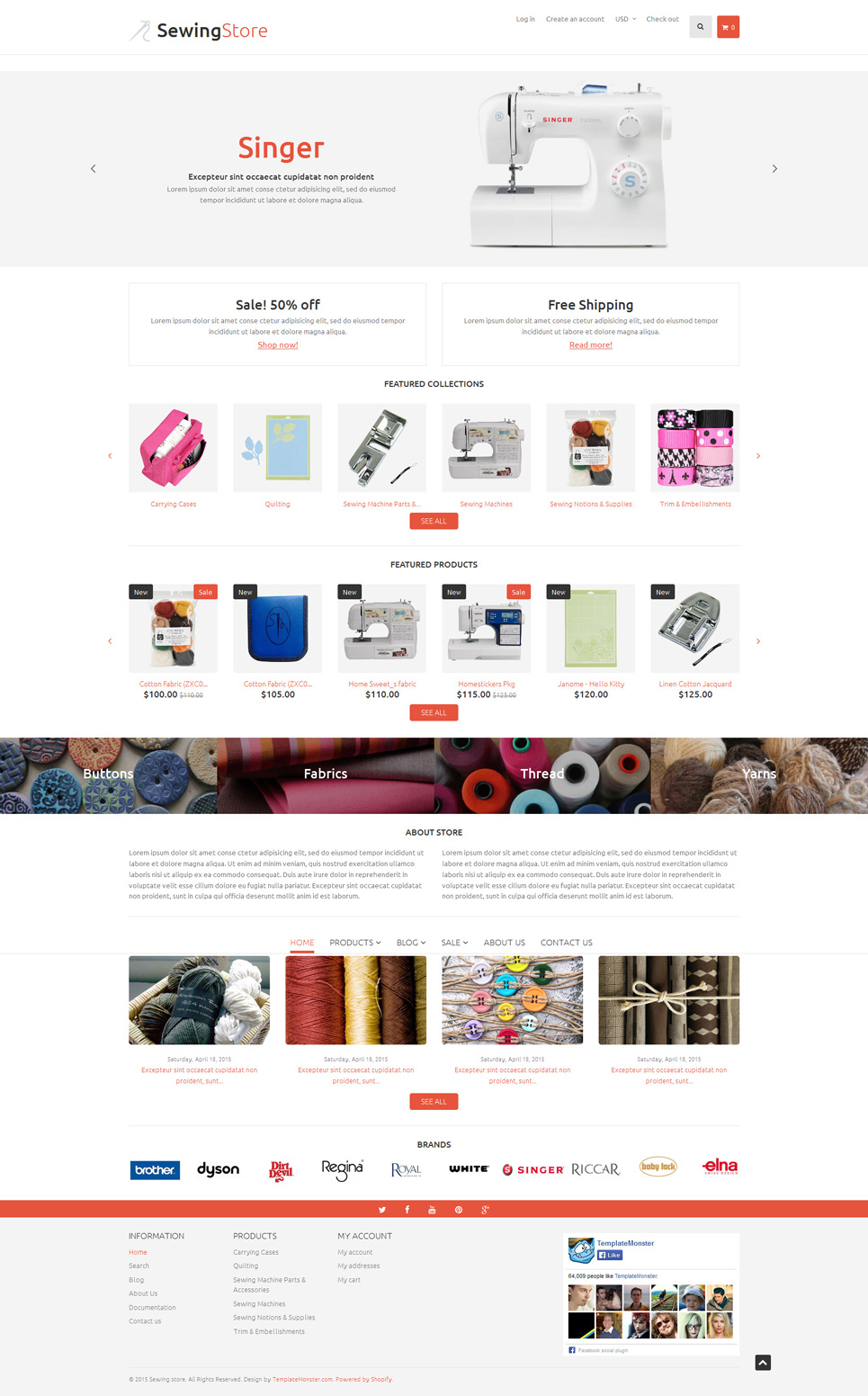 Sewing Items (Shopify theme) Item Picture
