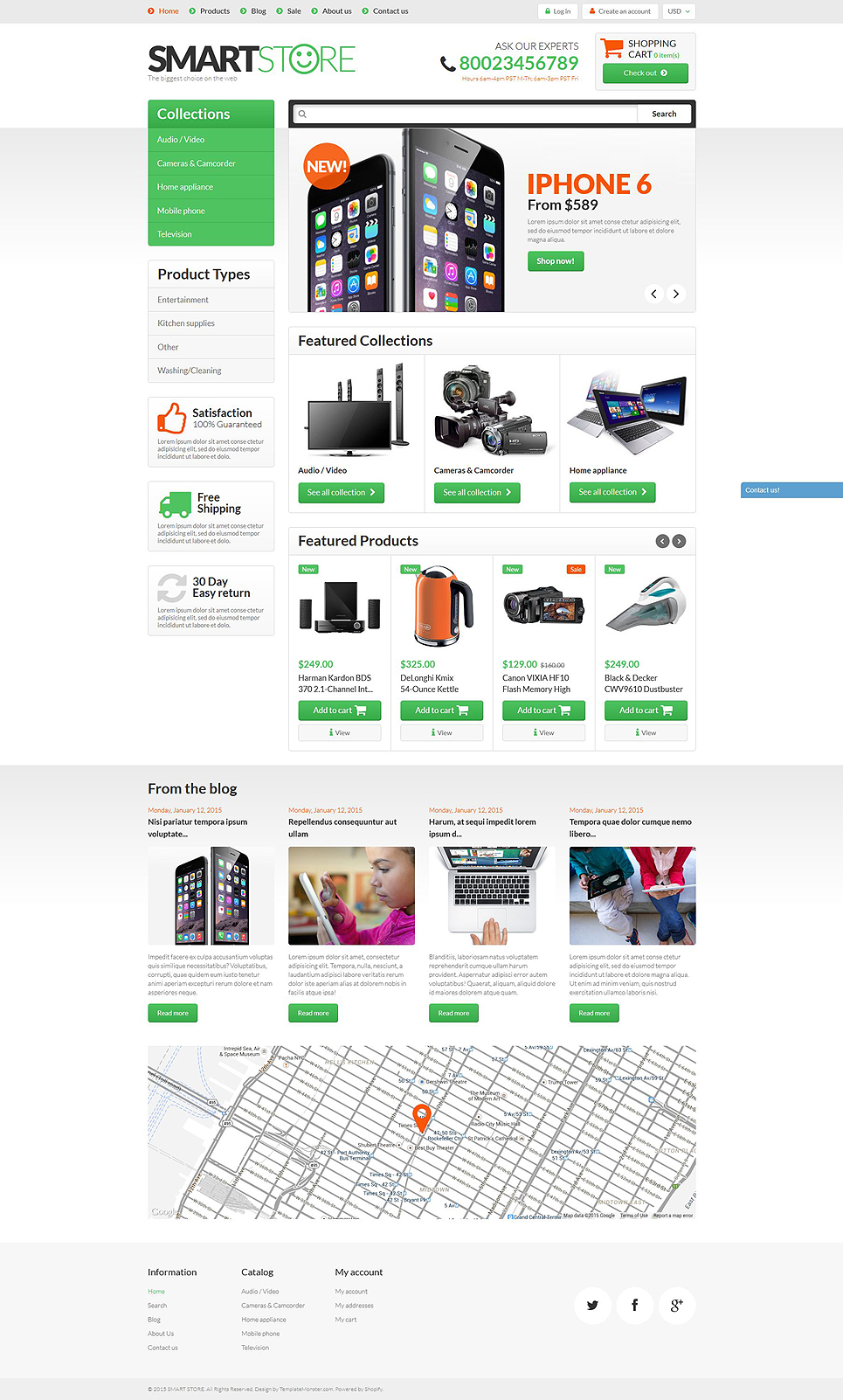 Smart Gear (ecommerce theme) Item Picture