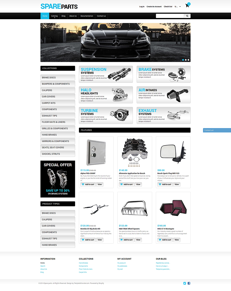 Spare Parts (Shopify theme) Item Picture