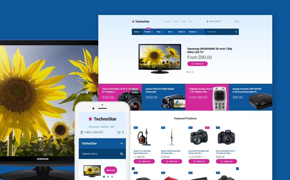 TechnoStar (Shopify theme) Item Picture