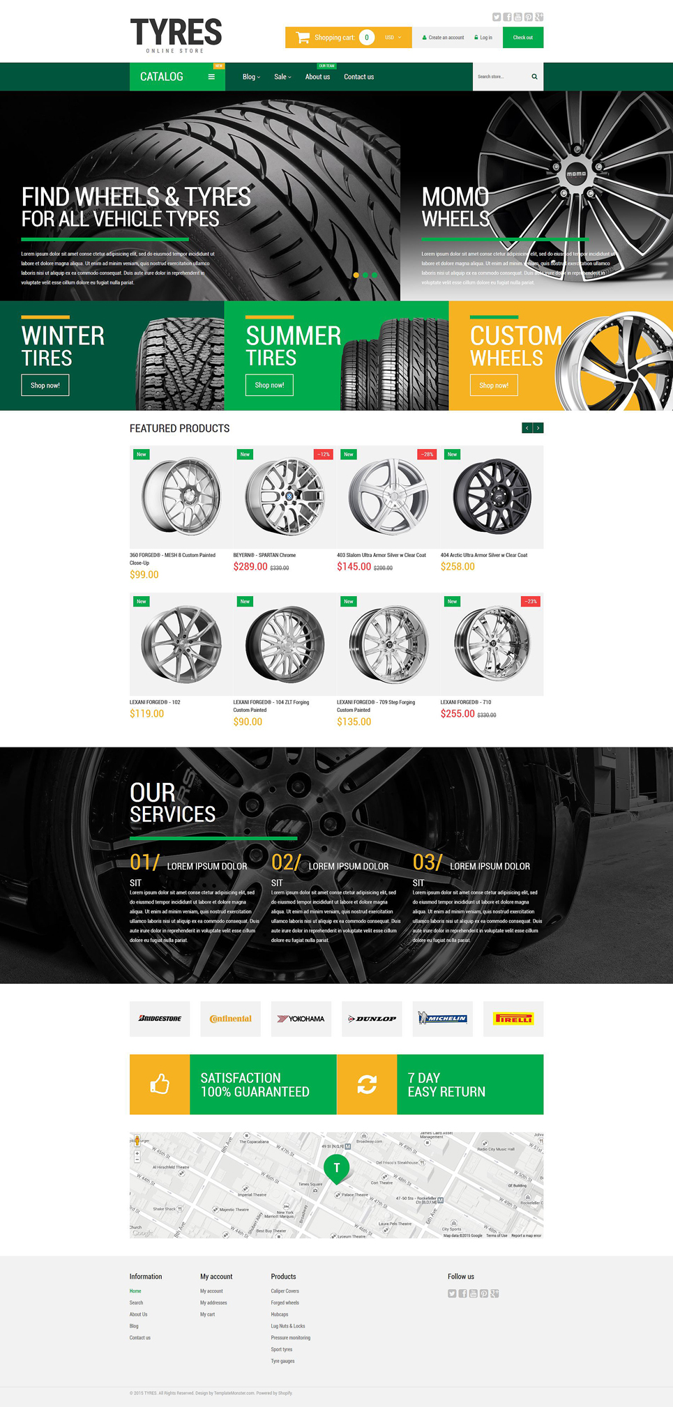 Wheels and Tyres (Shopify theme) Item Picture