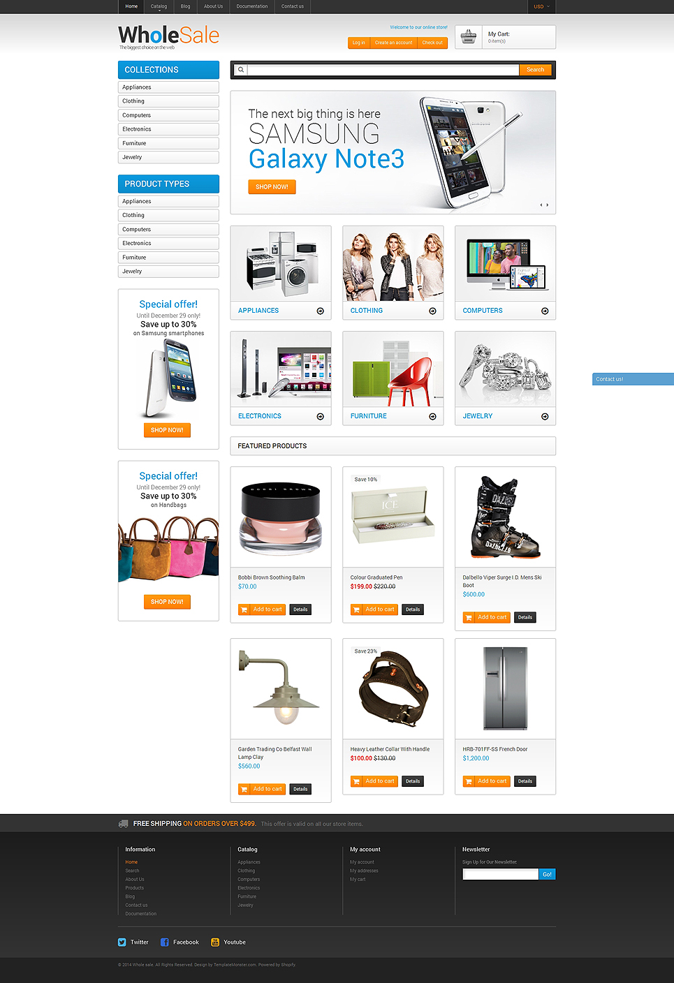 Wholesale Store (Shopify theme) Item Picture