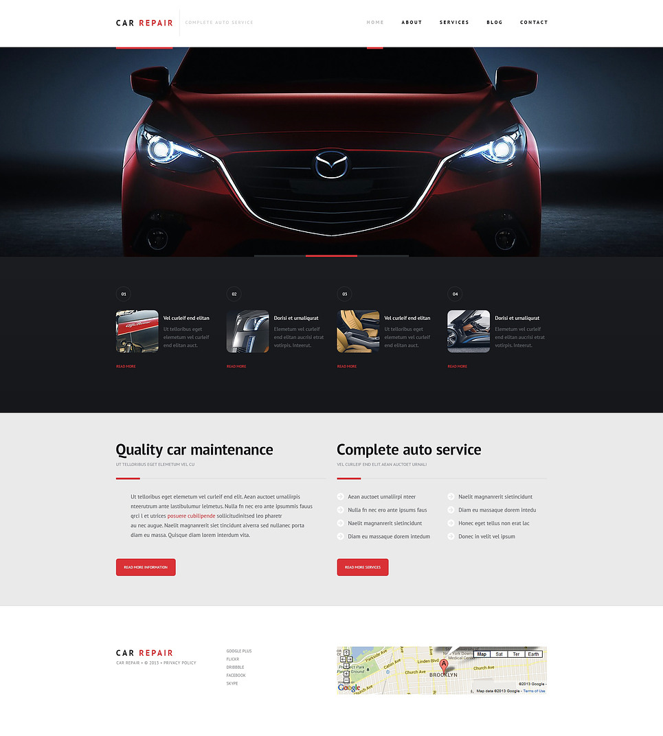 Car Repairs (WordPress theme) Item Picture