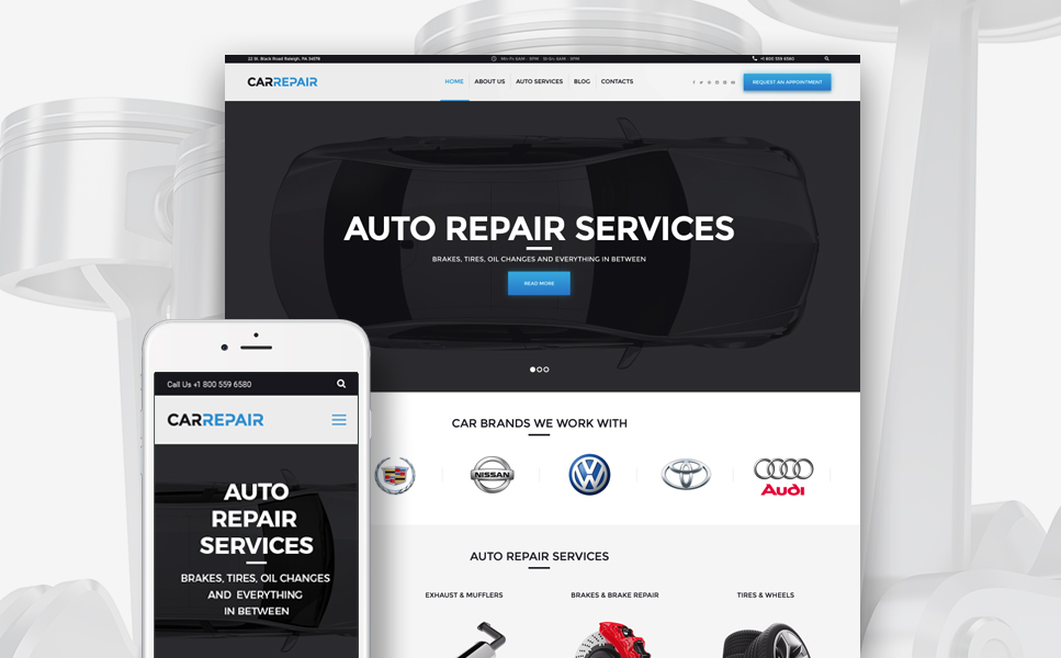 CarRepair (WordPress template) Item Picture
