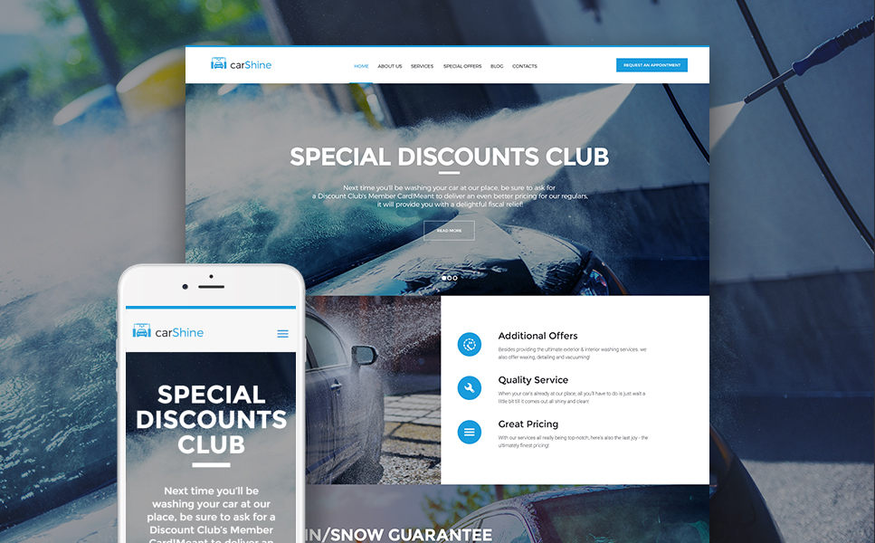 CarShine (WordPress template) Item Picture