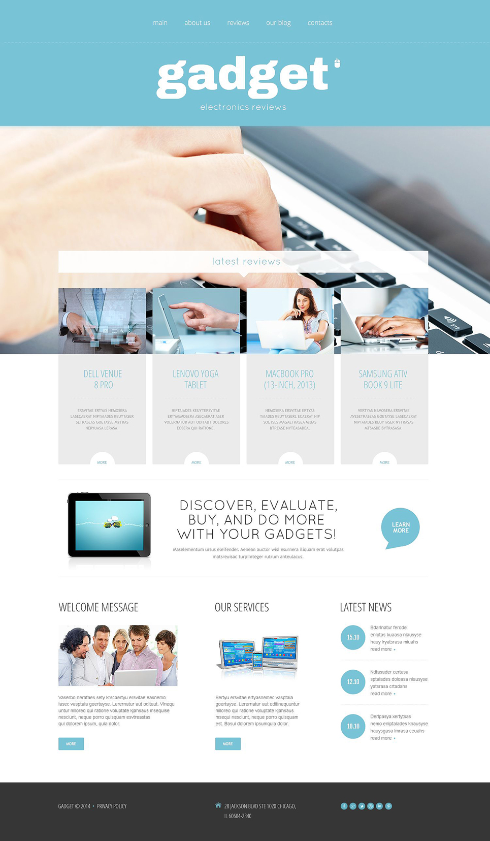 Super Tech (theme for WordPress) Item Picture