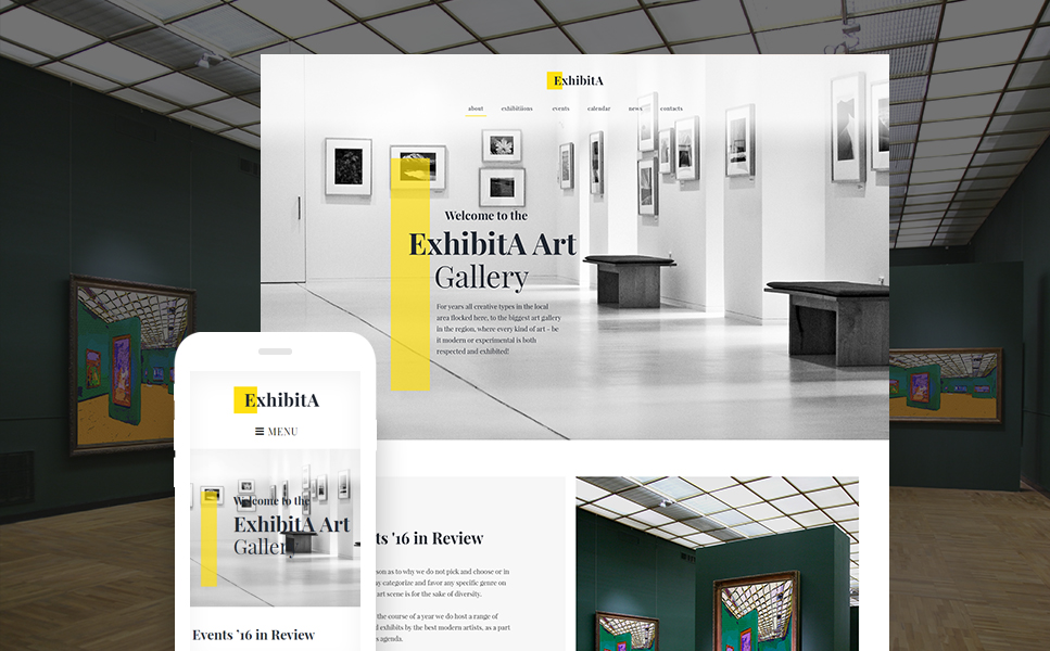 ExhibitA (website theme) Item Picture
