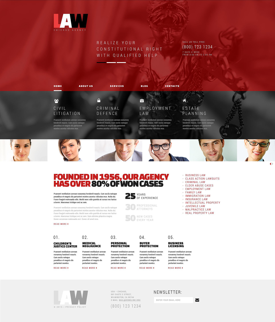 Law (theme for your WordPress site) Item Picture