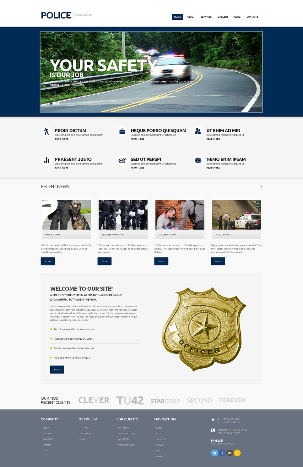 Police (website theme) Item Picture
