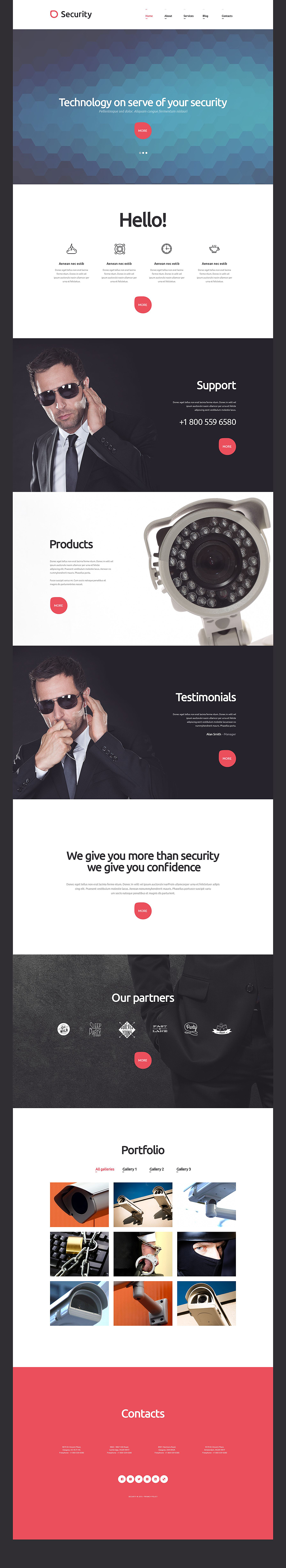 Security Technology (theme for WordPress) Item Picture