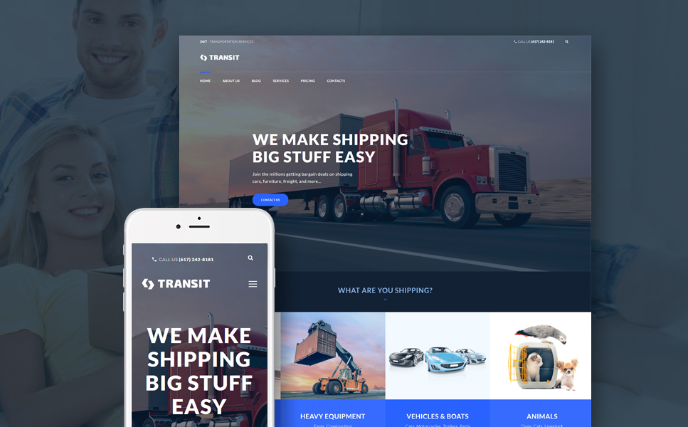 Transit (theme for your WordPress site) Item Picture