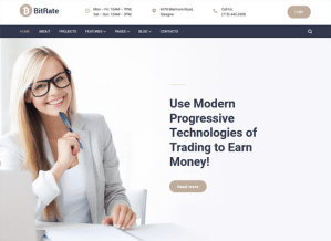 best wordpress themes cryptocurrency bitcoin feature