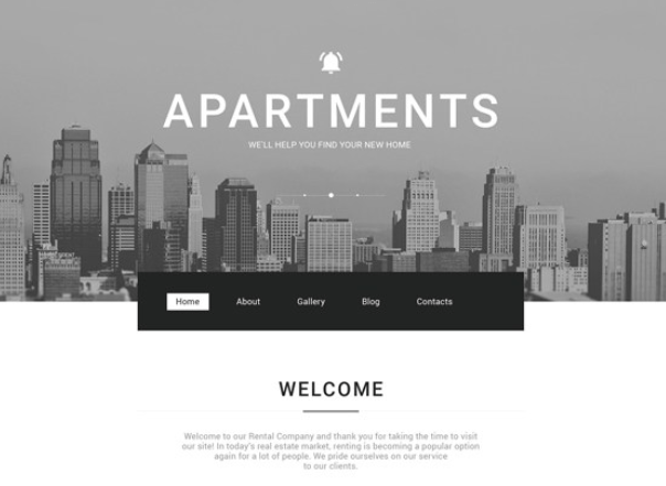 best real estate wordpress themes apartments for rent feature