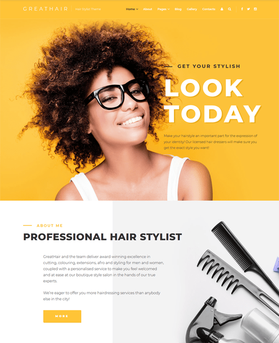 6 of the Best Joomla Templates for Beauty Spas & Hair Salons