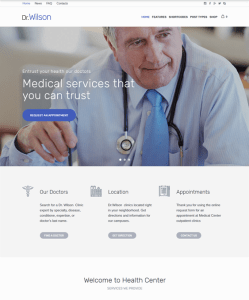 best medical wordpress themes doctors surgeons therapists clinics feature