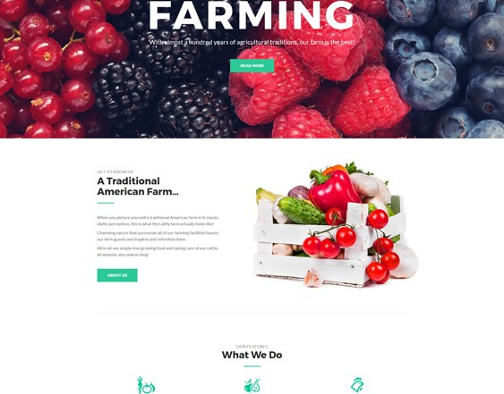 best farm agriculture joomla templates