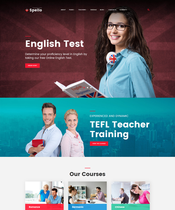education wordpress themes for schools