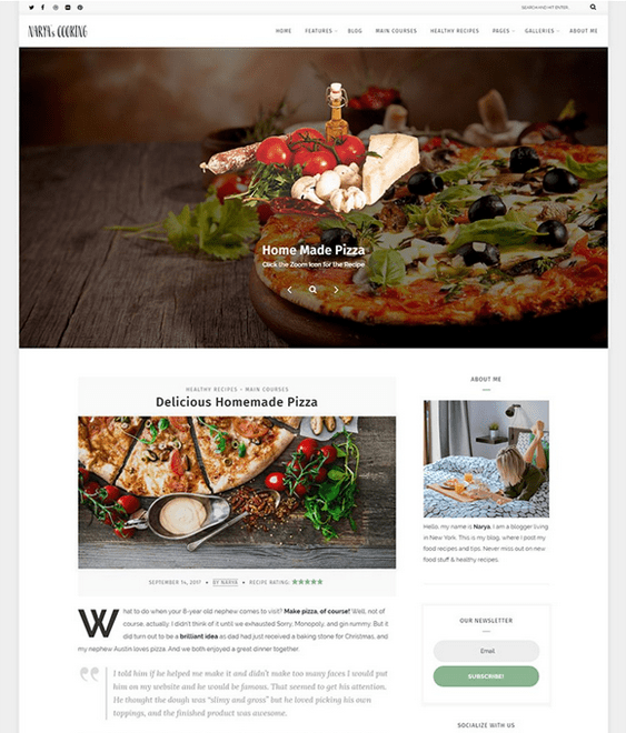 30 of the best wordpress themes for food blogs recipe websites wordpress themes food blogs recipe websites forumfinder Gallery