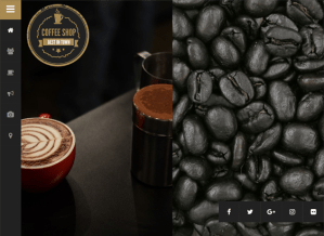 best coffee shop wordpress themes feature
