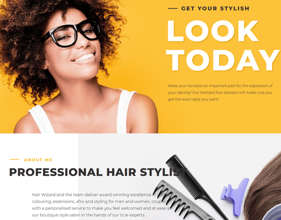 best wordpress themes for beauty salons spas hairstylists feature
