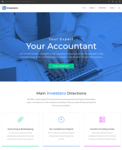 best wordpress themes accountants accounting firms feature