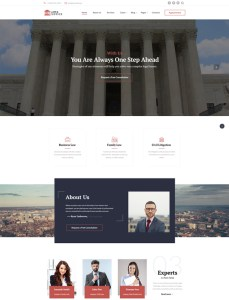 best bootstrap website templates lawyers attorneys law firms feature